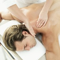 Man On a Massage Table